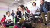 夫妻们与韩国选手们交换唱歌 田亮是音痴啊