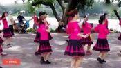 教学广场舞《小小新娘花》竹林是我们的家你陪着我过家家,真好听