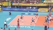 15:0领先韩国,朱婷发球失误友让1分,没成想安家杰还挑战