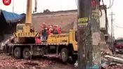 河北邢台一商场发生坍塌5人被埋 3人已被救出