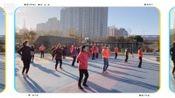 ㈢广场舞《阿哥阿妹》老年健身舞蹈队表演《印象城露天广场》西安南二环2019年12月27日