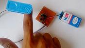 心脏脉搏传感器,看宅男如何在家中制作,教程好简单