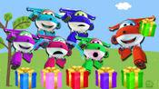 超级飞侠玩具游戏全集第七季:惊喜礼盒里有什么东西,让乐迪都排队来领了!