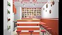 湖南餐饮业连锁加盟店装修图,好看的湘潭特色小吃店装饰效果图找长沙铭家装饰