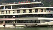 长江三峡号游轮,宽144米核定载客一千人,成为宜昌两坝一峡旅游新亮点!