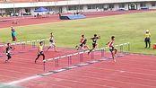 2019桂林市市运会男子市高中组110米栏决赛