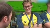 记者采访霍顿如何评价队友药检阳性