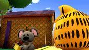加菲猫:欧迪被恶人带走,加菲猫求助好朋友小老鼠
