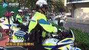 荆门37.8℃,交警在路上