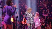 Taylor Swift泰勒斯威夫特霉霉 上海梅赛德斯奔驰天猫双十一晚会现场唱跳表演《ME!》和四大护法同台演出真的太可爱了!!!我被taytay美到失语