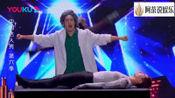 中国达人秀第六季:选手的机械舞表演创意十足,评委纷纷给好评