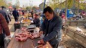 猪肉降价了,多少钱一斤?猪肉摊老板说出最新价格,比你们那贵吗