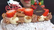 甜食者:圣诞法式圣欧诺黑蛋糕