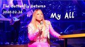 【状态有所回升】Mariah Carey牛姐2020.02.26驻唱My All,The Butterfly Returns驻唱