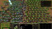 300骑士VS457兽人步兵谁会赢【魔兽争霸3】魔兽世界RTS【今晚吃炸姬】仿制史诗战争模拟器怀旧游戏复古经典