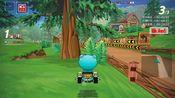 【跑跑卡丁车】(BUG跑法)32767-森林木桶-1分31秒44-板车X