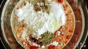 美味的鸡腿华夫饼,美式早餐