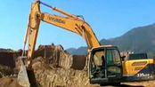 挖掘机工作视频表演{挖机装车}全部终