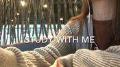 Study with me for 69mins|實時咖啡店背景聲+音樂 | 曦然的大學生活|擬定報告題目