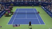【Tennis Elbow】模拟美网费纳决(两人居然从没在美网打过),纳豆6-3 4-6 6-4 3-6 6(6)-7惜败奶牛,气哭
