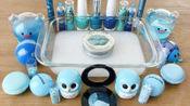 DIY手工制作自制的粘液史莱姆混合化妆品水晶泥彩泥玩具61