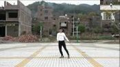 安徽淮北相山区广场舞曳步舞教学《爱就要爆灯》简单鬼步舞30步