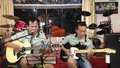 《在水一方》双吉他 (搭档:卢佩宁)叶冠星 吉他弹唱