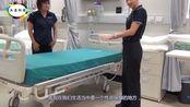 大圣科技:患者出院后, 普通病房的床单被褥是怎么处理的?