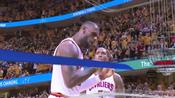 3日NBA快报:詹皇一数据超乔丹 双少发威雷霆险胜马刺