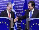 Rencontre entre José Barroso et le Premier ministre grec