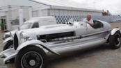 劳斯莱斯老爷车不好好修养,直接被装上火箭发动机,谁追得上?