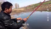 走进河南南阳:坑里无水、河里无鱼,大哥直言:以后不再钓鱼了