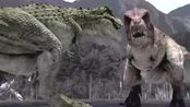 小霸王龙打不赢仇家暴龙,想起用计策,能成功吗,恐龙史前时代