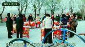 河南周口扶沟县,冬季民俗音乐,响彻贾鲁河畔,呼唤打工的亲人