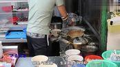 实拍香港特色海鲜牛肉粥店,40块一碗,材料十足,顾客每天都要吃