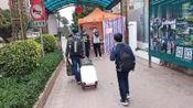 湖南:湖南妹子一家三口回广州,看看都要接受什么检查才可以进小区