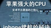 【xian333c】苹果芯片省电是怎么来的(安卓平台孱弱的小核心)