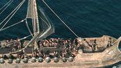 阿基力斯决定征占特洛伊,无数军舰出发,场面极其震撼