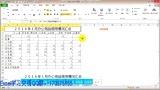 Excel教程Excel函数教程Excel制作表格Excel透视表Excel实用技巧Excel入门到精通Excel2010Excel视频教程Excel教程第2课怎么画表格