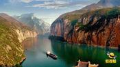 湖北宜昌: 神兽现身? 长江三峡惊险龙吸水奇观 引众人惊叫连连