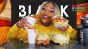 【吃蟹阿姨】5个人吃双份的酮汉堡,集中精神,不要放弃(2020年2月28日21时20分)