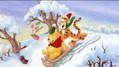 小熊维尼与跳跳虎 滑雪场的妙用