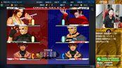 【小孩曾卓君】拳皇98um主力抢10!玛德好气啊 小孩vs黑皮 03月10号