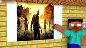我的世界动画-怪物学院-丧尸末日挑战-BIG CRANG
