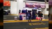 浦东机场有人开救护车闪警示灯接免税商品?网友热议!机场深夜回应