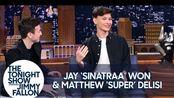 "吉米采访OWL守望先锋联赛冠军Jay ""Sinatraa""和Matthew ""Super"" DeLisi"