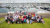 青岛港2019第四届远东杯国际帆船拉力赛 日本富山起航
