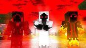 MC动画:怪物学校《实体303复仇》,Him没打过实体303