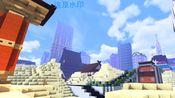 [徒手搓瓜皮]《MINECRAFT》瓜皮的城市建造三周年纪念视频