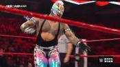 WWE:雷尔619准备就绪,惨遭盖洛森接住,脊椎重摔狠狠砸